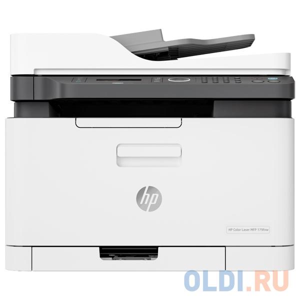 МФУ HP Color Laser 179fnw <4ZB97A> принтер/сканер/копир/факс, A4, 18/4 стр/мин. ADF, 128Мб, USB, LAN, WiFi (замена SS256M Samsung SL-C480FW)