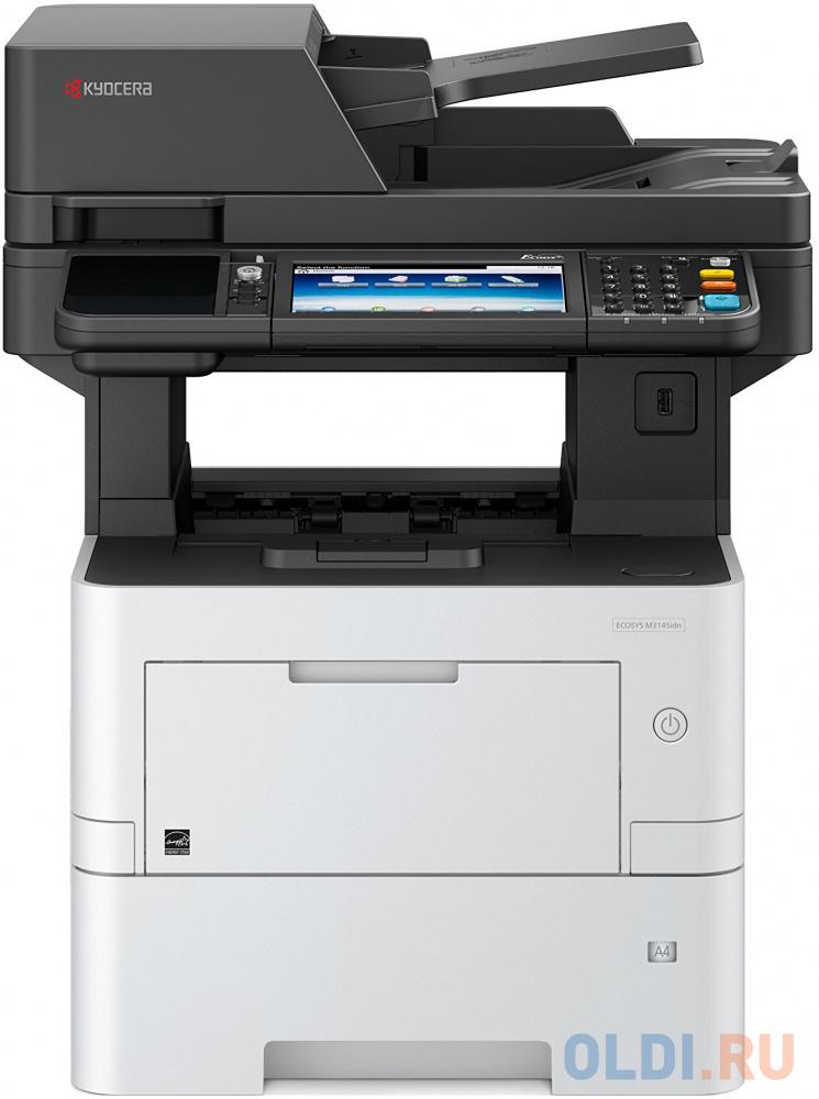 МФУ Kyocera M3145idn A4, (копир, принтер цветн., сканер, 45 стр./мин., Duplex, DADF) (картридж TK-3060) мфу kyocera ecosys m3145idn 1102v23nl0