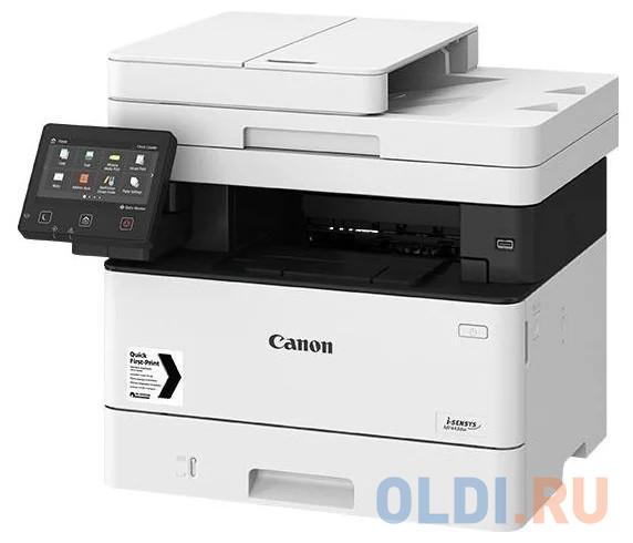 МФУ Canon I-SENSYS MF443dw (копир-принтер-сканер 38стр./мин., DADF, Duplex, LAN, Wi-Fi, A4, ) - замена MF421DW