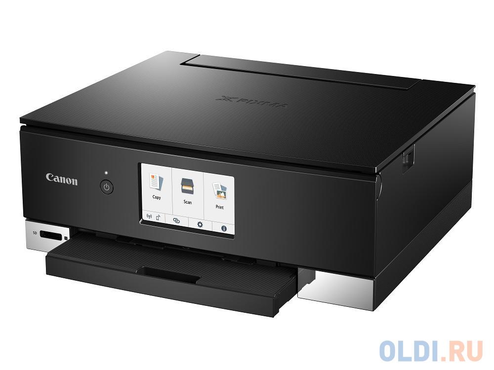 МФУ Canon PIXMA TS8340 Black (струйный, принтер, сканер, копир, Bluetooth, WiFi, AirPrint, duplex, Сенсорный дисплей) замена TS8240
