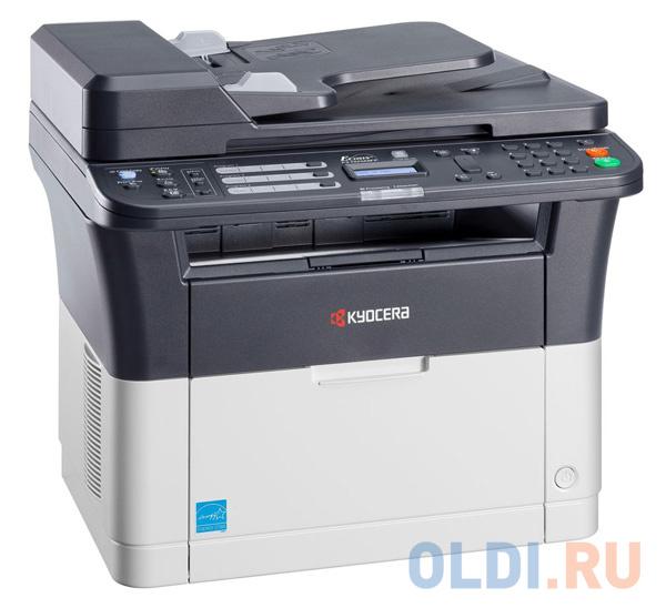 МФУ Kyocera FS-1125MFP (копир, принтер, сканер, факс, DADF, duplex, 25 ppm, A4)
