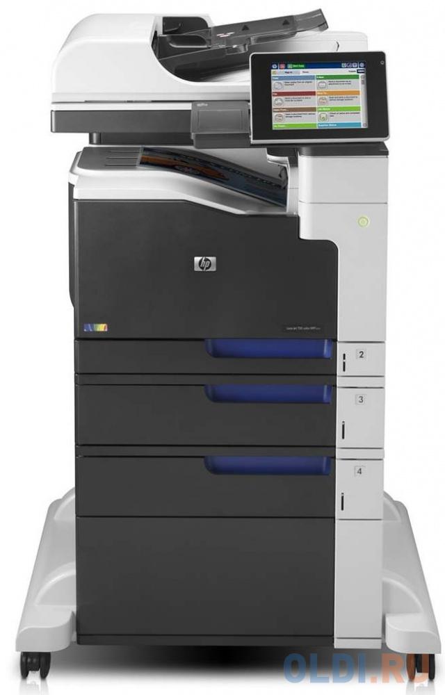 МФУ HP LaserJet Enterprise 700 M775f MFP CC523A ч/б A3 30ppm дуплекс HDD 320Гб факт USB hp laserjet enterprise mfp m528dn 1pv64a