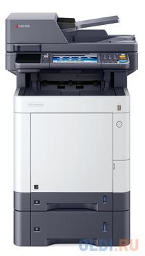 Многофункциональное устройство KYOCERA Цветной копир-принтер-сканер-факс M6630cidn (А4, 30 ppm, 1200 dpi, 1024 Mb, USB, Gigabit Ethernet, дуплекс, автоподатчик, тонер) продажа только с дополнительным тонером