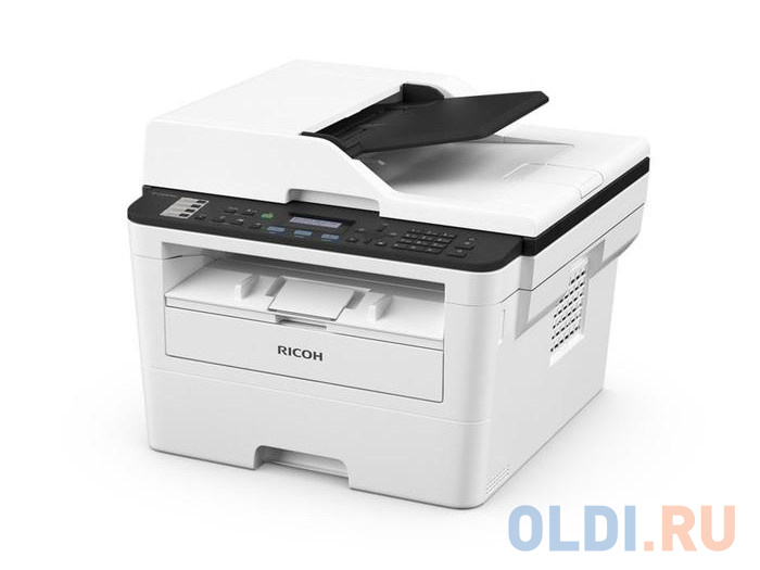 МФУ Ricoh SP 230SFNw <картридж 700стр.> (копир-принтер-сканер-факс, ADF, 30стр./мин., 1200x600dpi, LAN, WiFi, NFC, A4)