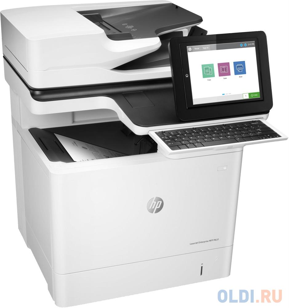 МФУ HP LaserJet Enterprise M631dn J8J63A принтер/сканер/копир, A4, 52 стр/мин, дуплекс, 1.5Гб, 16Гб eMMC, USB, LAN ((J8J63A))