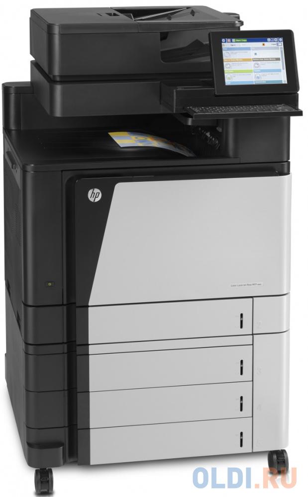 Лазерное МФУ HP Color LaserJet Enterprise flow MFP M880z+