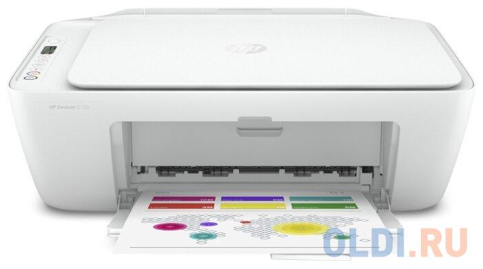 Фото - МФУ струйный HP DeskJet 2720 (3XV18B) A4 WiFi USB белый мфу hp deskjet 2720 белый