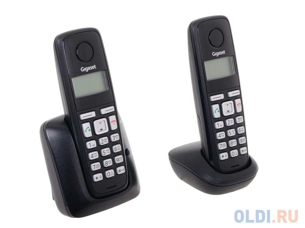 Телефон Gigaset А220A Black (DECT автоответчик)