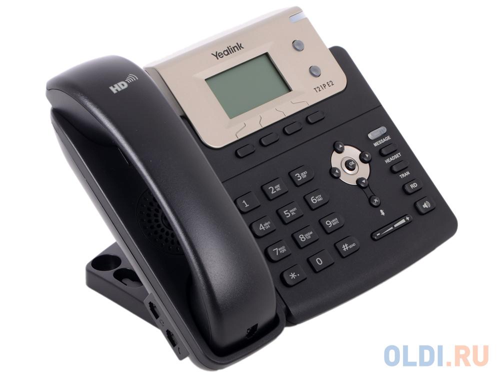 Телефон VoIP Yealink SIP-T21P E2 фото