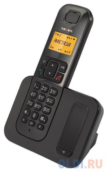 Радиотелефон DECT Texet TX-D6605A черный радиотелефон