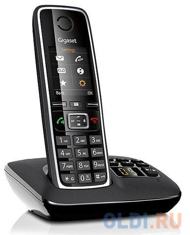 Фото - Радиотелефон DECT Gigaset C530 A черный радиотелефон dect gigaset a415 черный