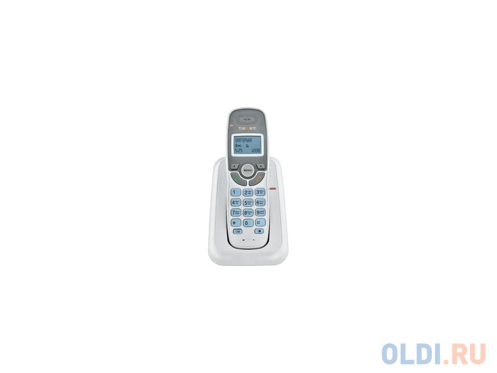 Фото - Радиотелефон DECT Texet TX-D6905A белый проводной телефон texet tx 201 белый