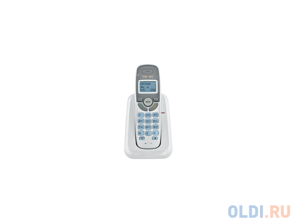 Радиотелефон DECT Texet TX-D6905A белый радиотелефон