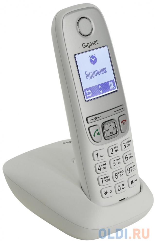 Радиотелефон DECT Gigaset A415 белый радиотелефон gigaset a415 black