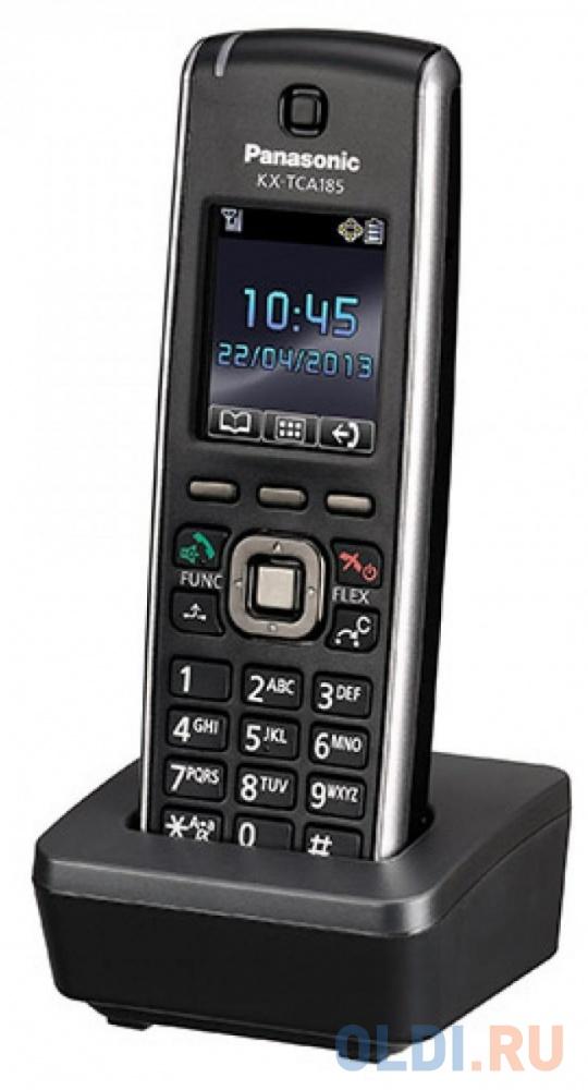 Радиотелефон DECT Panasonic KX-TCA185RU черный