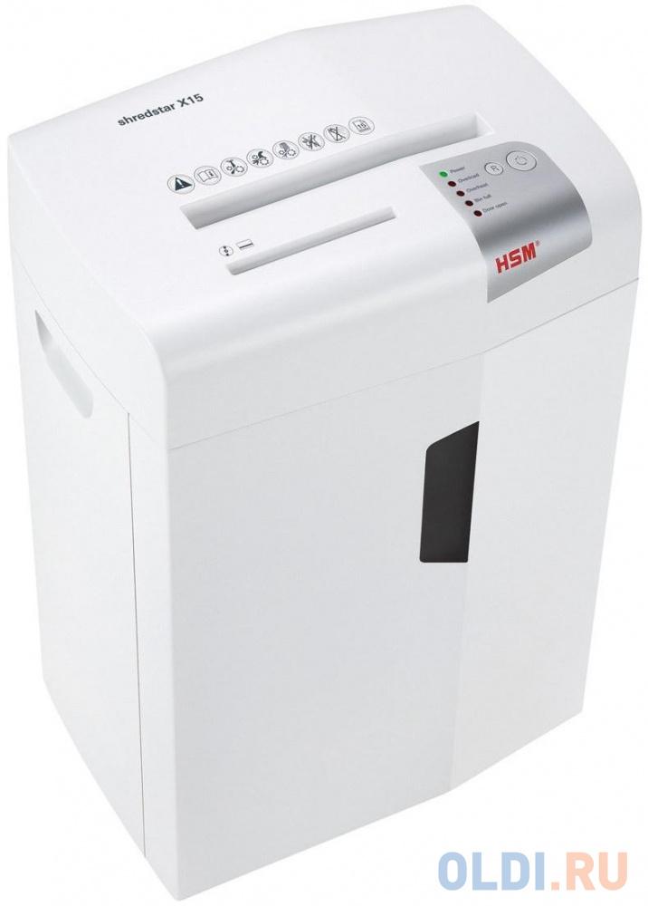 Уничтожитель бумаг HSM ShredStar X15 17лст 25лтр 1030121