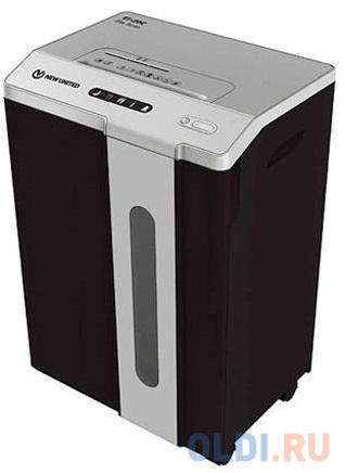 Шредер New United Etalon ET-20C белый (секр.P-4)/перекрестный/25лист./34лтр./скрепки/скобы/пл.карты/CD new united m2450s 3 9 мм белый