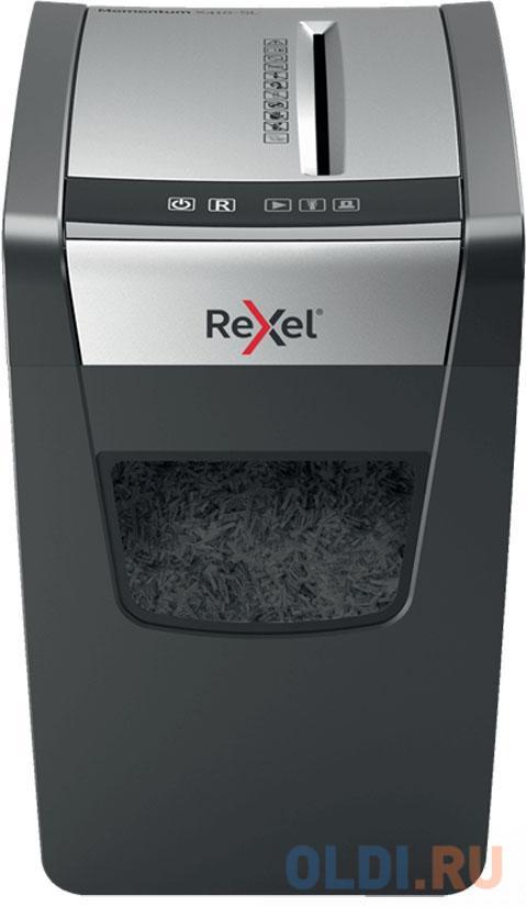 Фото - Шредер Rexel Momentum X410-SL (секр.P-4)/фрагменты/10лист./23лтр./скрепки/скобы шредер rexel auto 90x 2103080eua