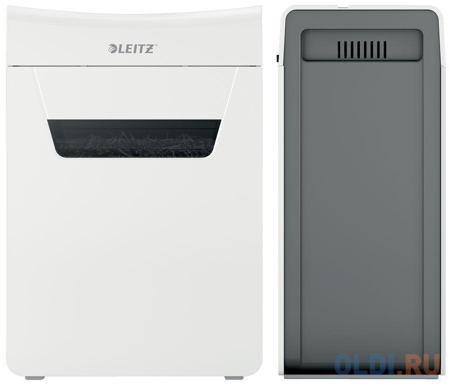 Шредер Leitz IQ PROTECT Premium 6M белый (секр.P-5)/фрагменты/6лист./18лтр./скрепки/скобы