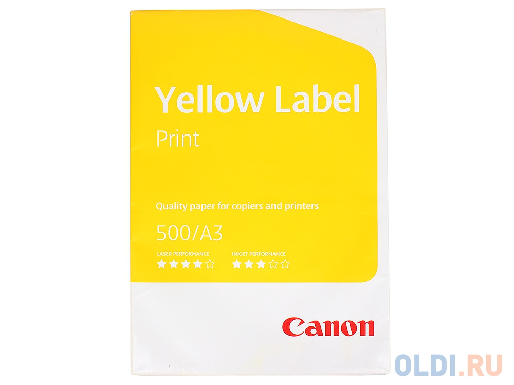 Бумага Canon Yellow Label A3 80г/м2 500л 6821B002.