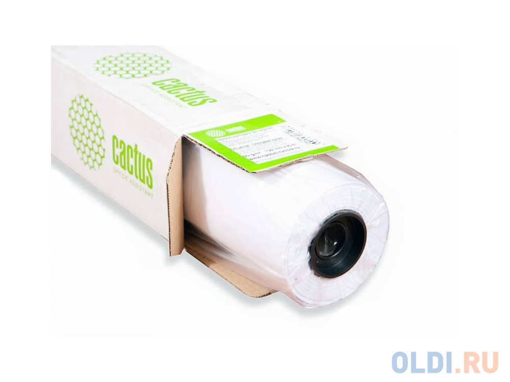 Бумага для плоттера Cactus CS-PC180-91430 36 914мм х 30м 180г/м2 с покрытием бумага для плоттера lomond 180г м2 1067мм х 30м х 50 матовая 1202093