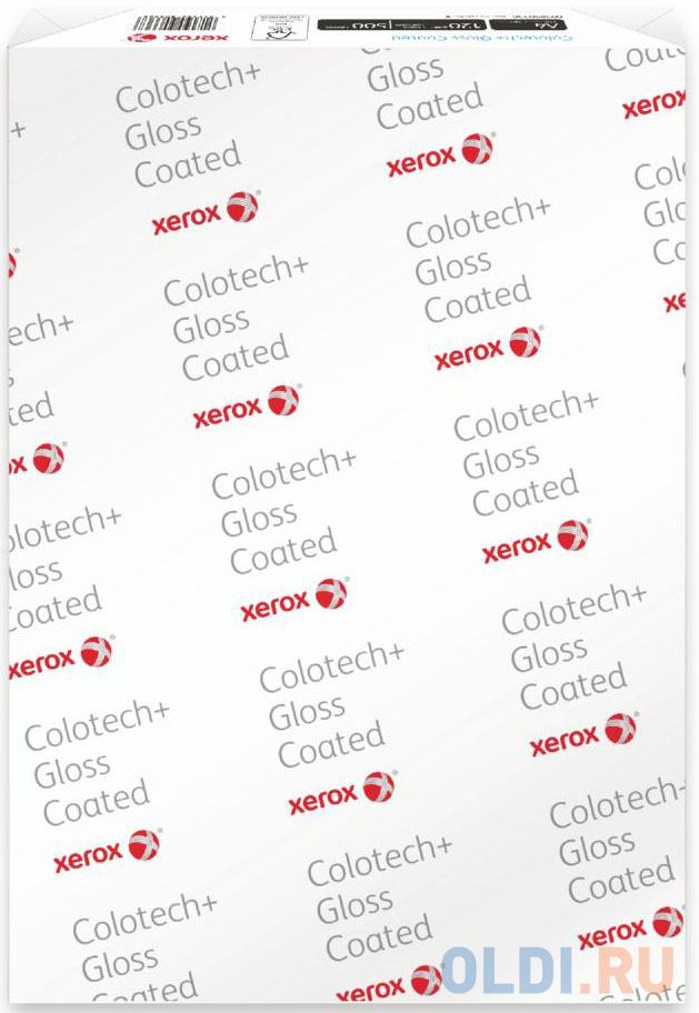 Фото - Коробка бумаги Xerox Colotech Plus Gloss Coated А4 140г/м2 400л глянцевая 003R90339 xerox colotech plus gloss coated a4 003r90345