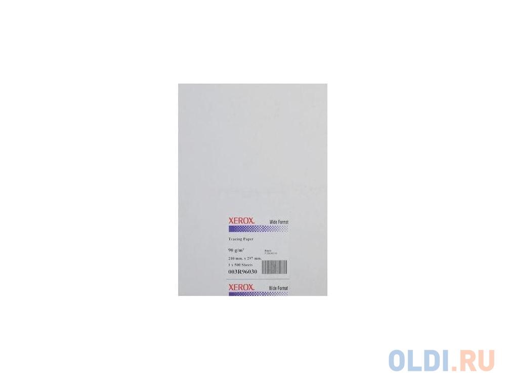 Фото - Бумага инженерная Xerox А4 90г/м2 калька 250л 450L96030 бумага цветная index color 80гр а4 5х50 55 85 93 59 45 250л