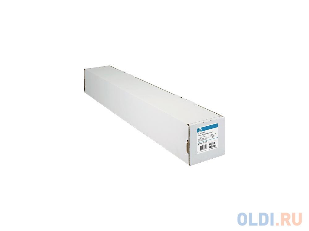 Фото - Бумага HP C6567B с покрытием для струйной печати высококачественная 1067 мм x 45.7 м 90г/м2 калька hp c3868a 90г м2 белый для струйной печати
