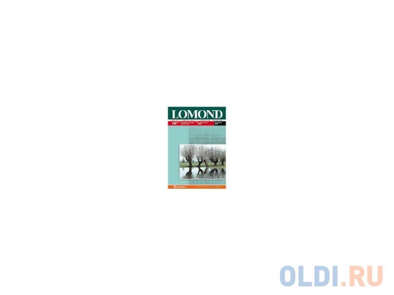 Фотобумага Lomond A4 210г/м2 глянцевая двухсторонняя 25л 0102047