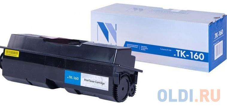 Картридж NV-Print CS-TK160 2500стр Черный картридж nv print cs eps167 80000стр черный