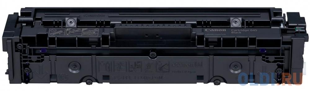 Картридж Canon 045Bk 1400стр Черный