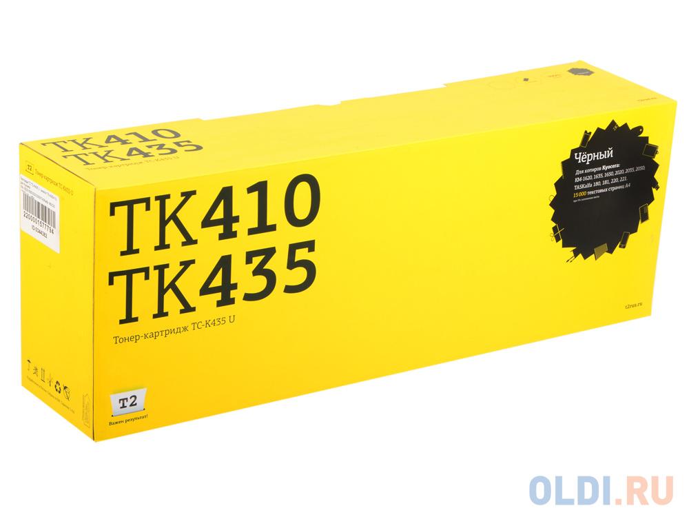 Картридж T2 TC-K435 для Kyocera KM-1620/1635/2020/2050/TASKalfa 180/220 15000стр