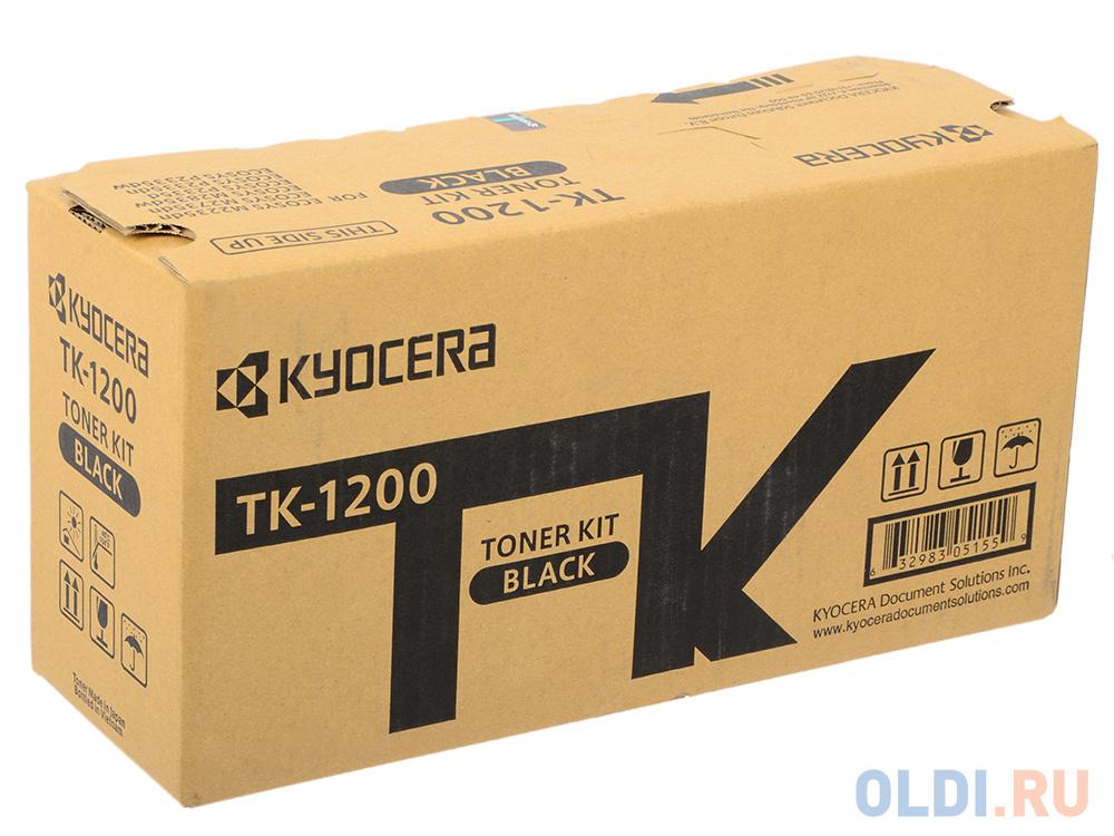 Картридж Kyocera TK-1200 для Kyocera P2335d/P2335dn/P2335dw/M2235dn/M2735dn/M2835dw черный 3000стр картридж kyocera mita tk 1200 для kyocera ecosys p2335d ecosys p2335dn ecosys p2335dw ecosys m2235dn ecosys m2735dn ecosys m2835dw 3000стр черный