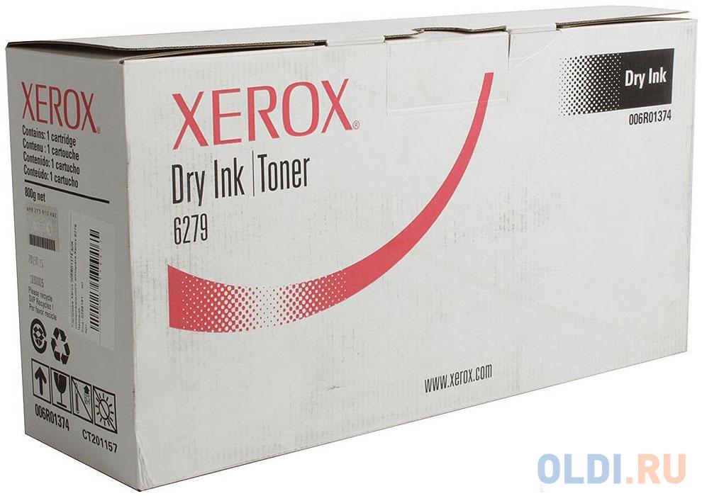 Картридж Xerox 006R01374 для копировального аппарата Xerox 6279. Черный. тонер картридж xerox 006r01374 черный 6279