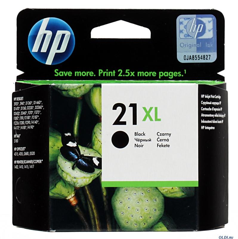 Картридж HP C9351CE (№21XL) Black (Повышенной емкости) фото