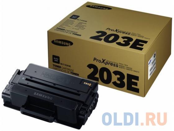 Картридж Samsung SU887A MLT-D203E черный (black) 10000 стр тонер картридж cactus cs d203sn черный 3000стр для samsung sl m3820d m3820nd m4020nd m4020nx