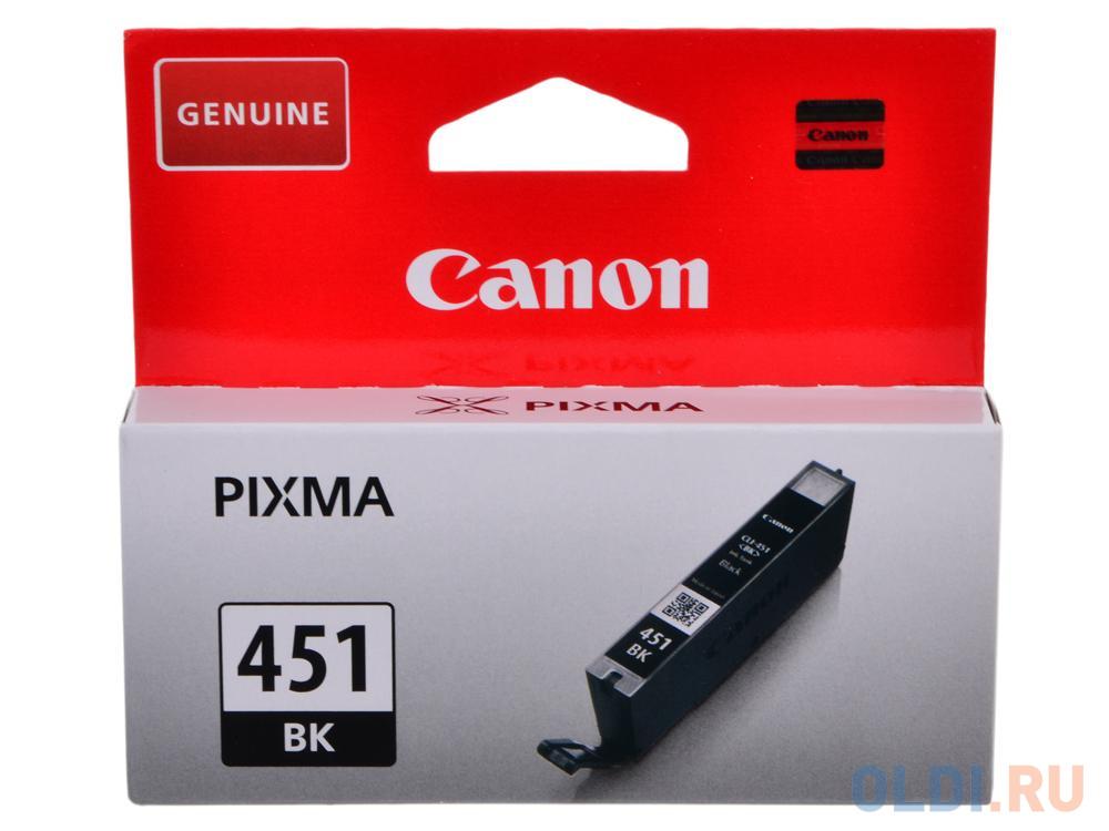 Картридж Canon CLI-451Bk для iP7240 MG5440 черный