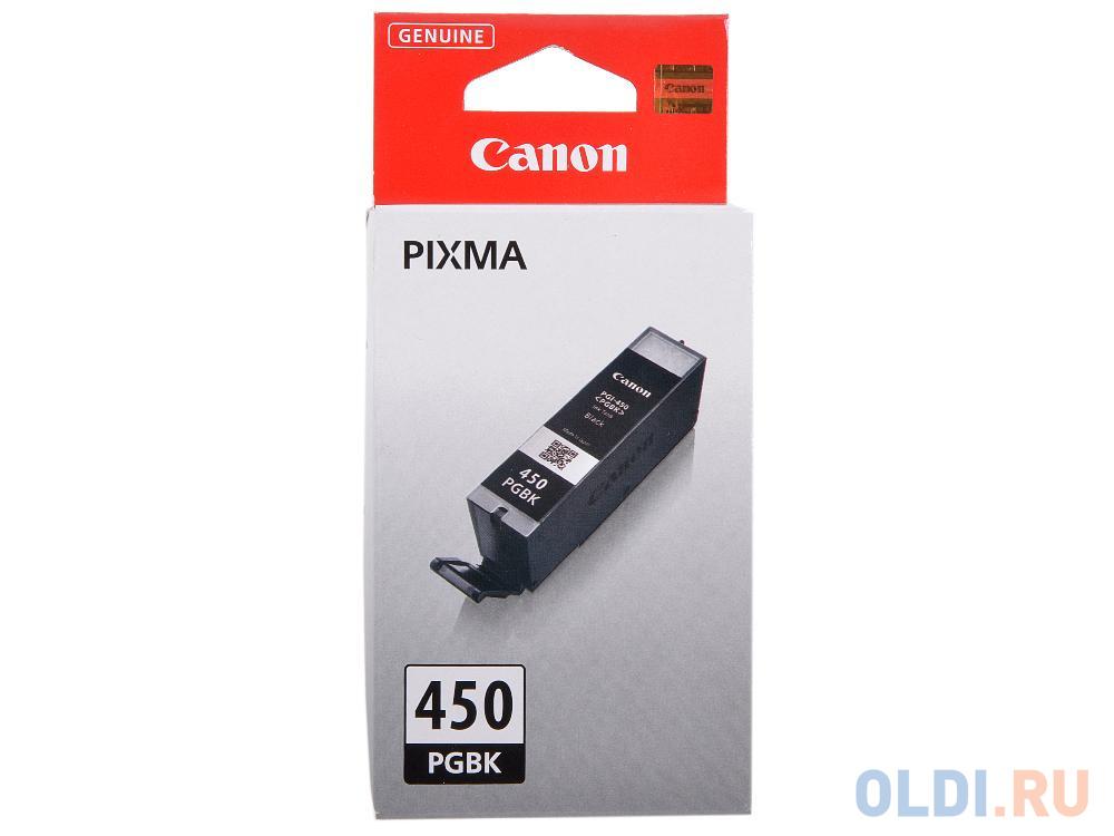 Картридж Canon PGI-450 PGBK 300стр Черный