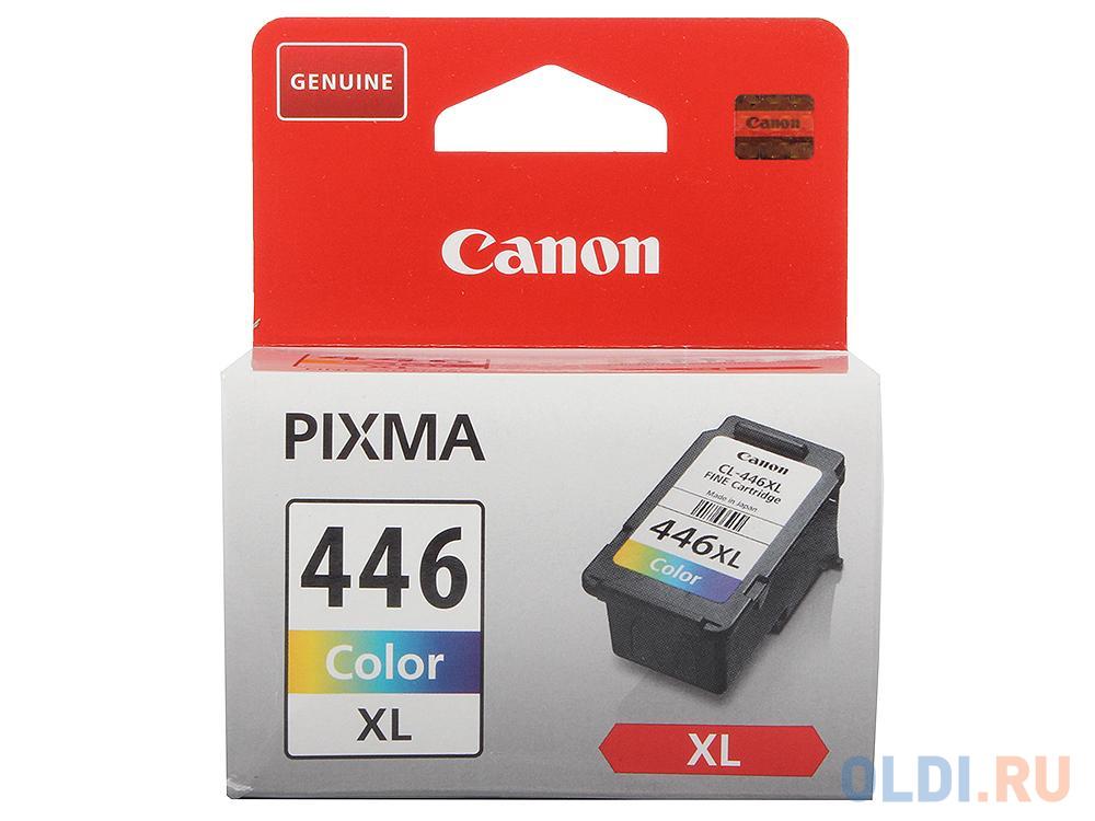 Картридж Canon CL-446XL для Canon PIXMA IP2840 PIXMA IP2845 PIXMA MG2440 PIXMA MG2540 300стр 3 цвета (голубой, пурпурный, желтый) картридж увеличенного объёма canon cl 446xl