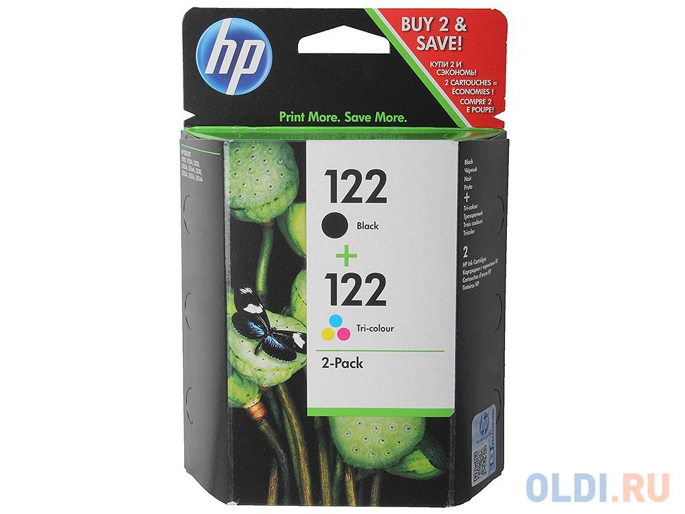 Картридж HP CR340HE (CH561HE + CH562HE) №122 для HP DJ 1050 2050 цветной + черный