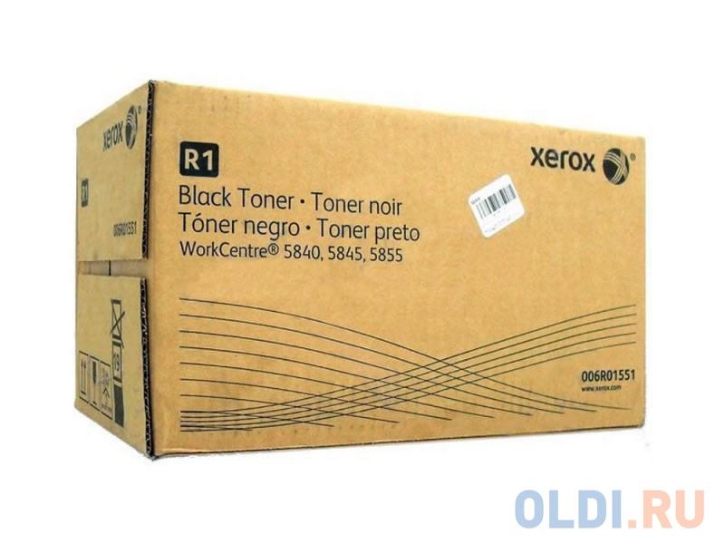 Тонер-Картридж Xerox 006R01551 для WC 5845/5855 черный 76000стр комплект ремонтный подъемного устройства лотка 4 xerox wc 5735 5945