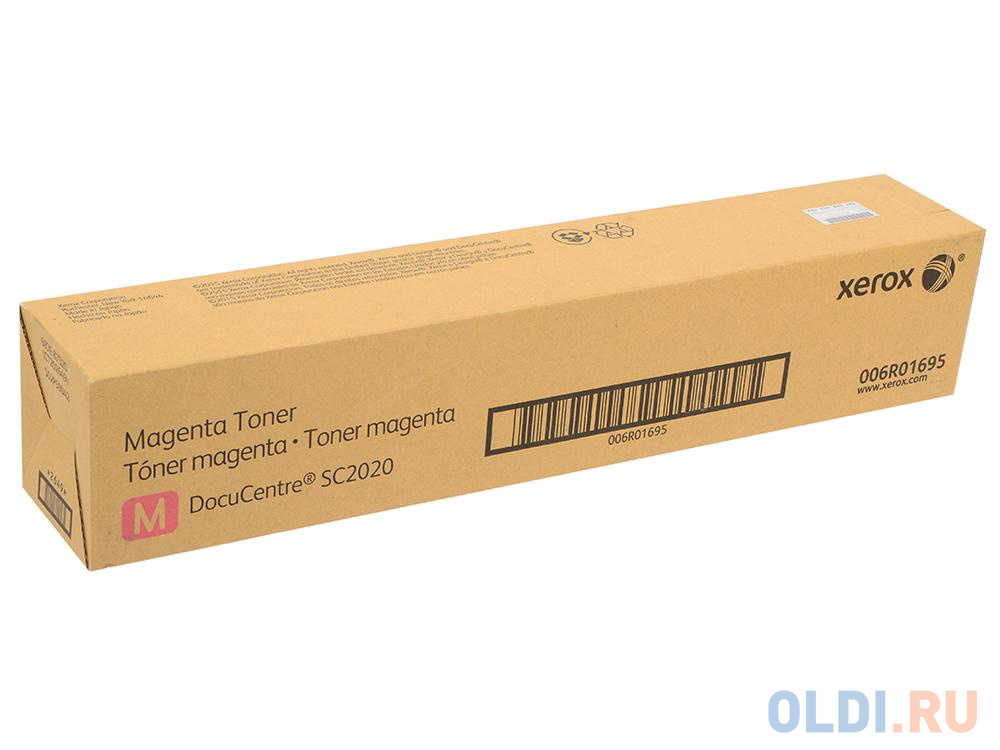 Тонер-картридж Xerox 006R01695 для Phaser SC2020. Пурпурный. 3000 страниц.