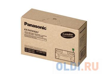Тонер-картридж Panasonic KX-FAT410A7 для KX-MB1500 KX-MB1520RU 2500 стр..