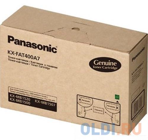 Тонер-картридж Panasonic KX-FAT400A7 для KX-MB1500RU KX-MB1520RU 1800стр..