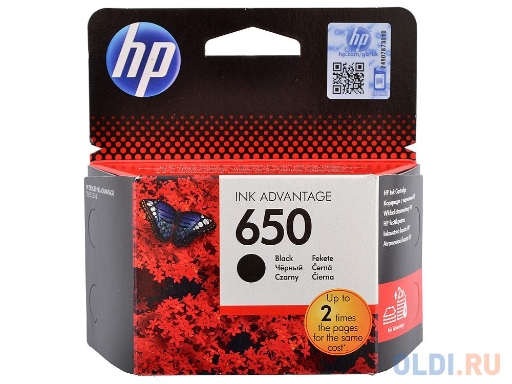 Фото - Картридж HP CZ101AE (№ 650) черный, DJ IA 2615, 360стр картридж hp cz102ae 650 цветной dj ia 2615 200стр