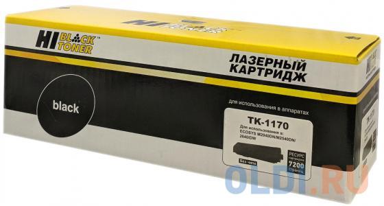 Картридж Hi-Black TK-1170 для Kyocera-Mita M2040dn/M2540dn/M2640idw черный 7200стр блок фотобарабана sakura dk1150 dk1160 dk1170 для kyocera mita ecosys m2040dn m2135dn m2540dn m2540dw m2635dn m2635dw m2640idw m2735dn m2735d