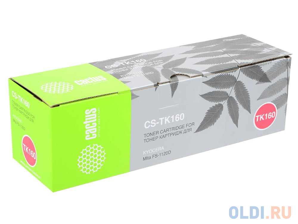 Фото - Картридж Cactus CS-TK160 для Kyocera Mita FS 1120D черный 2500стр картридж nv print cs tk160 2500стр черный