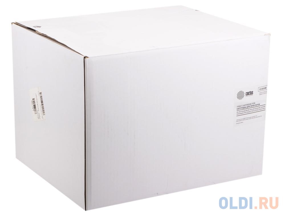 Тонер-картридж Cactus CS-CE255XD 12500стр Черный