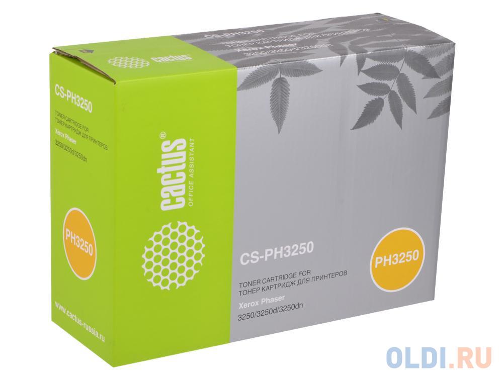 Фото - Картридж Cactus CS-PH3250 для Xerox Phaser 3250. Чёрный. 5000страниц. 106R01374. картридж xerox 106r01374