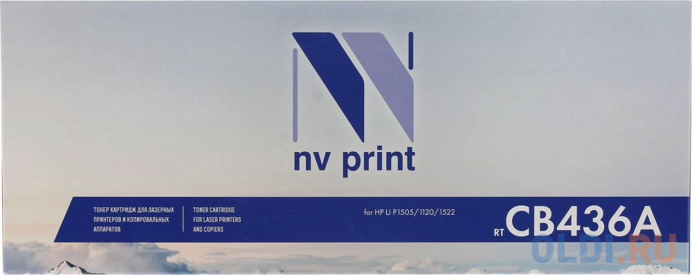 Картридж NV-Print CB436A CB436A CB436A CB436A CB436A 2000стр Черный
